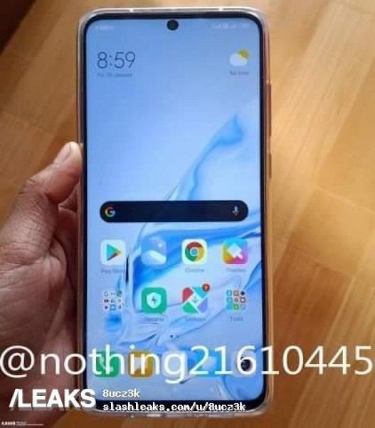 Redmi Note 9 неприятно удивил огромным вырезом в экране
