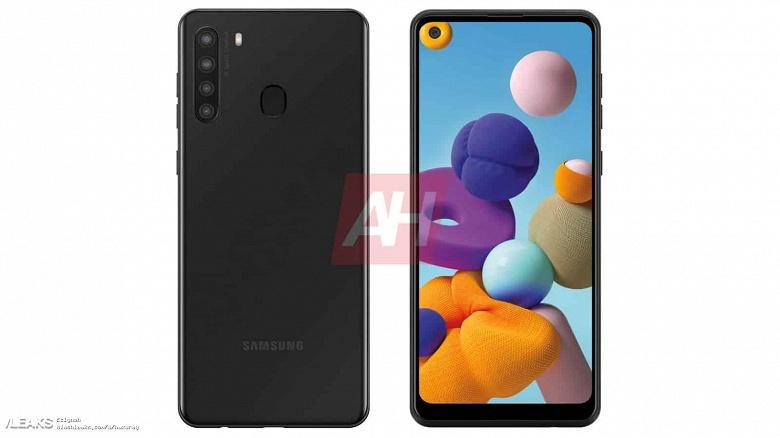 Samsung Galaxy A21 сильно изменился на новых изображениях