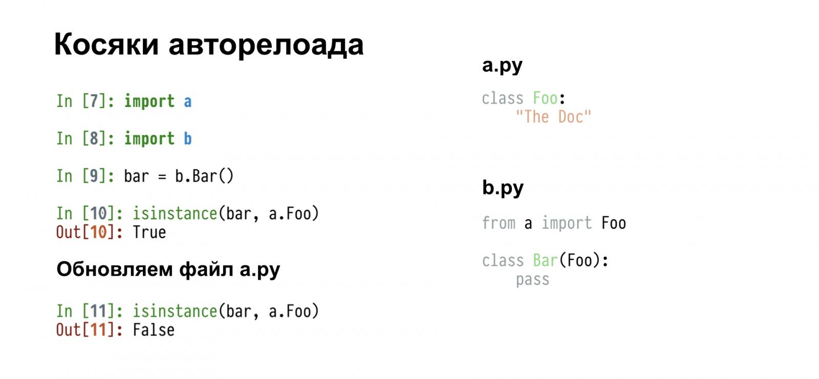 Бесполезный REPL. Доклад Яндекса - 12