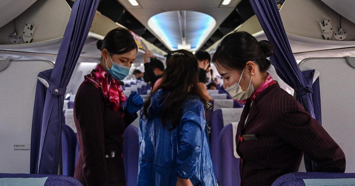 Больной коронавирусной инфекцией прилетел в Пекин из Москвы