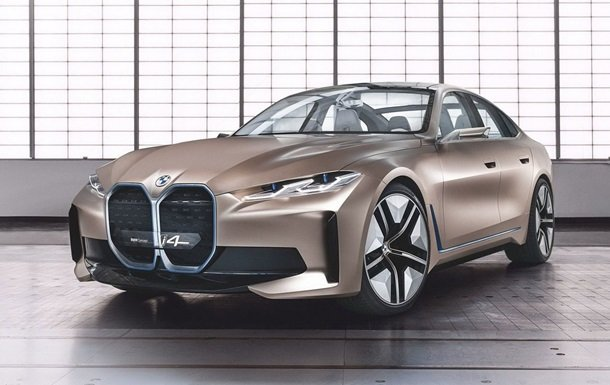 Представлен концепт электромобиля BMW i4