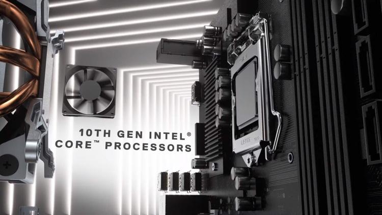 Реклама настольных ПК Dell указывает на скорый выход Intel Core i 10-го поколения