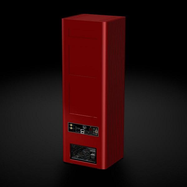 Сервер Silentmaxx Xeon Cube ART Server имеет пассивное охлаждение и выразительную внешность