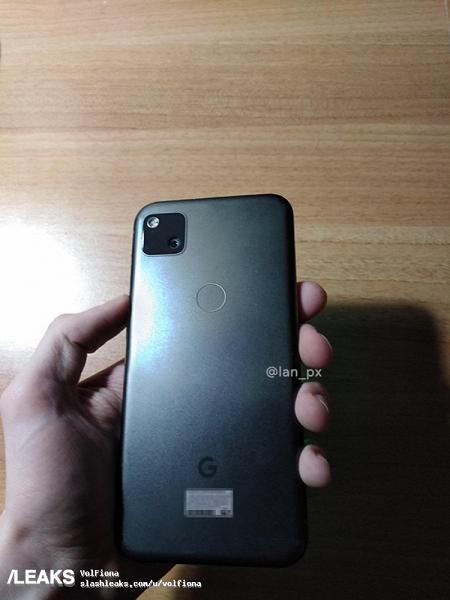 Google Pixel 4a получил самую странную камеру