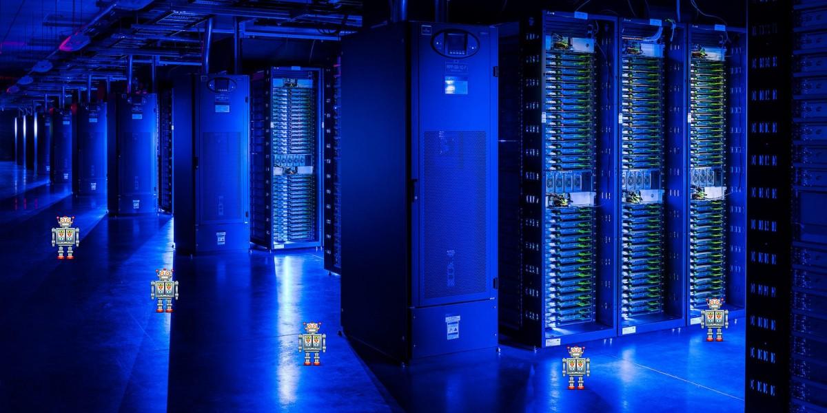 Дата-центры Facebook патрулируют роботы - 1