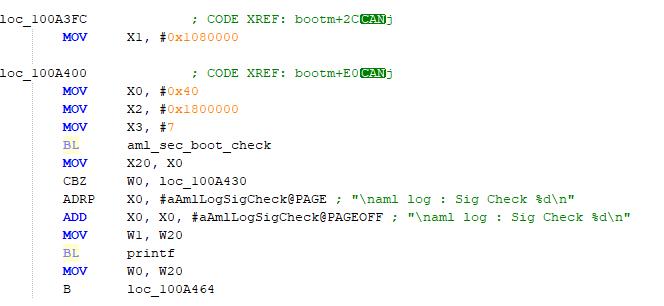 Обзор защиты ПО процессора S905X (secured boot) - 5