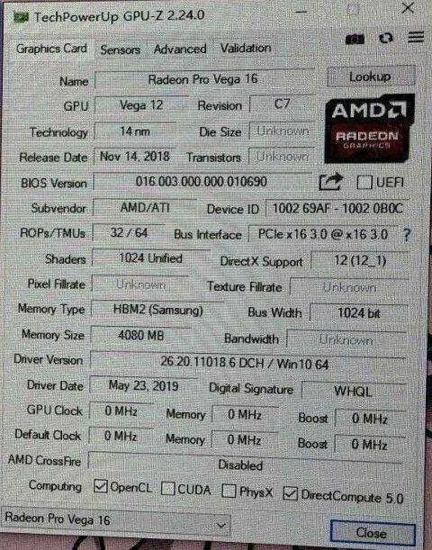 Причудливый прототип AMD Radeon Vega 12 выставлен на аукционе