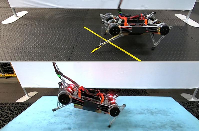 С алгоритмом Google робот учится ходить самостоятельно - 1