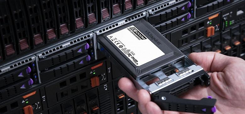 Твердотельные накопители Kingston DC1000M объемом до 7,68 ТБ предназначены для центров обработки данных