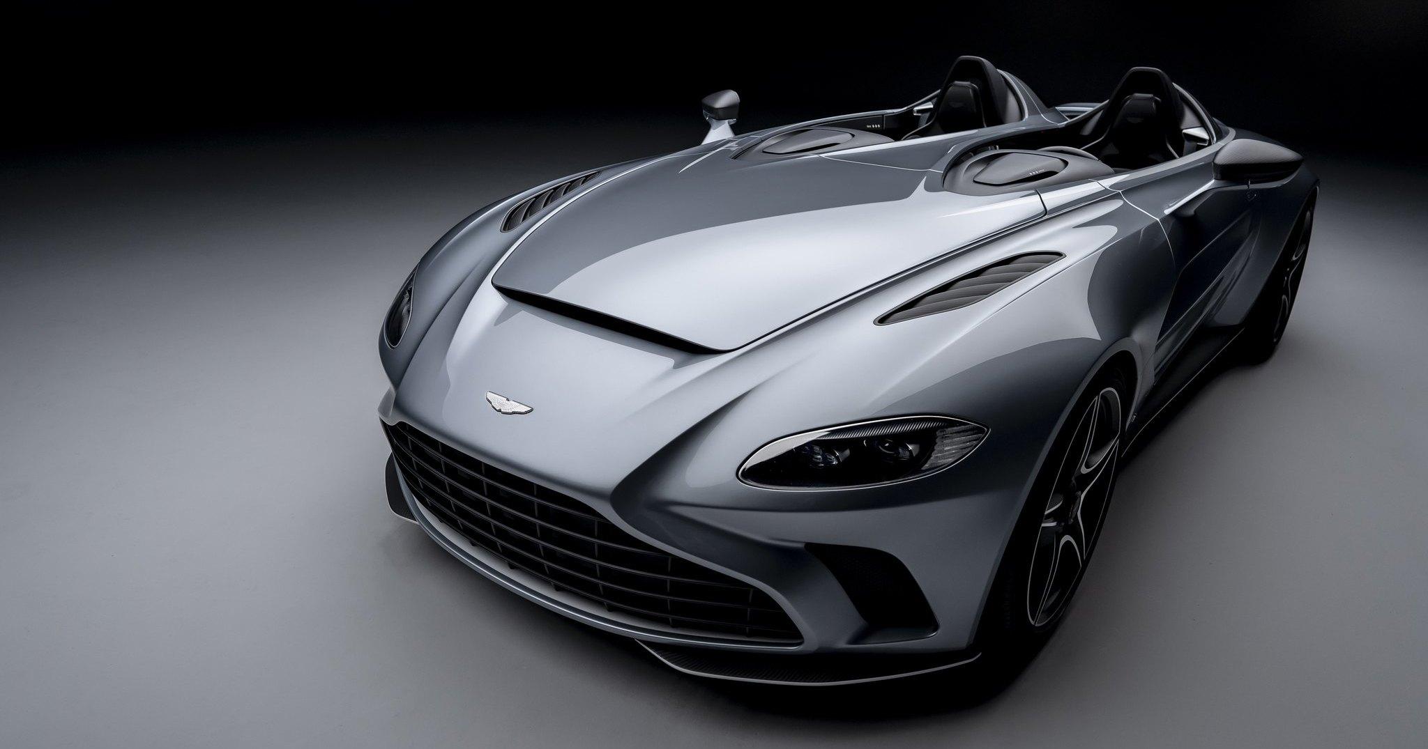 Aston Martin посвятил новый суперкар истребителю F-18