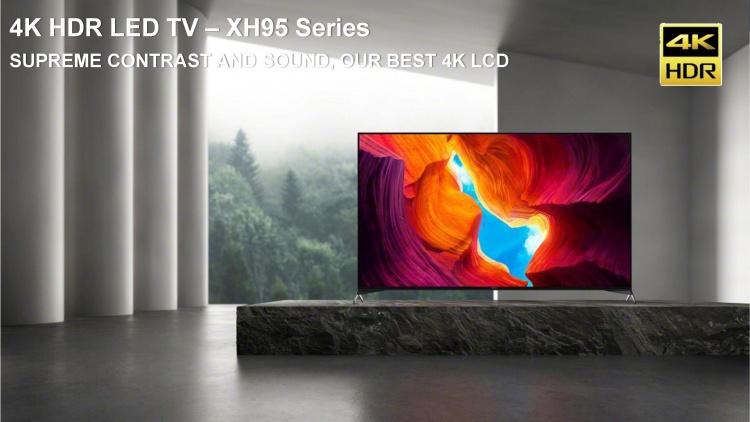 Sony продемонстрировала новые модели телевизоров в Москве