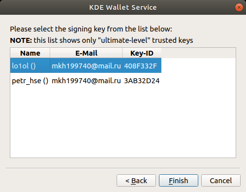 Как подписывать почтовую переписку GPG-ключом, используя PKCS#11-токены - 13