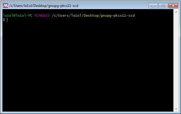 Как подписывать почтовую переписку GPG-ключом, используя PKCS#11-токены - 3