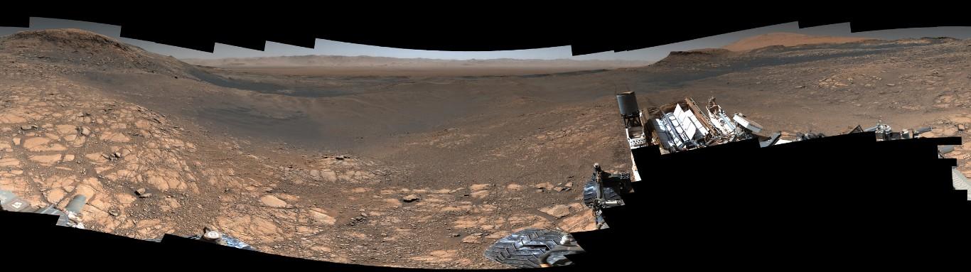 «Кьюриосити» снял панораму Марса в сверхвысоком разрешении: 1,8 млрд пикселей - 2