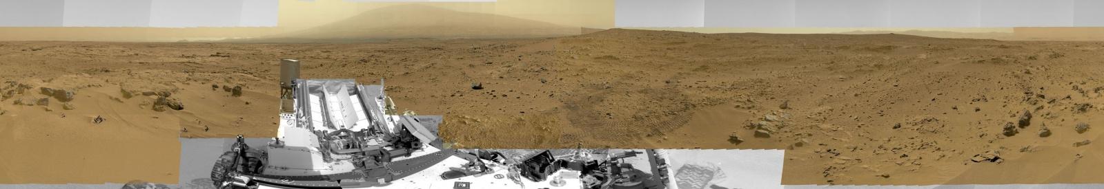 «Кьюриосити» снял панораму Марса в сверхвысоком разрешении: 1,8 млрд пикселей - 3