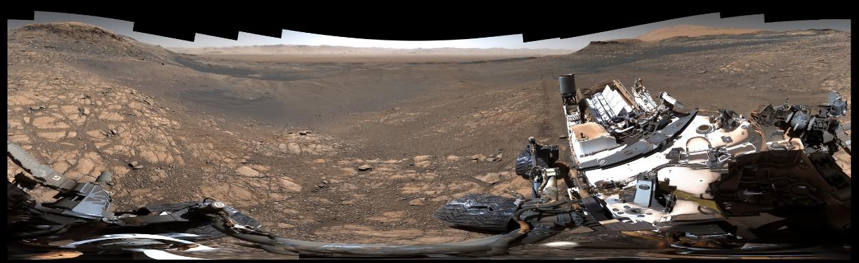 «Кьюриосити» снял панораму Марса в сверхвысоком разрешении: 1,8 млрд пикселей - 1