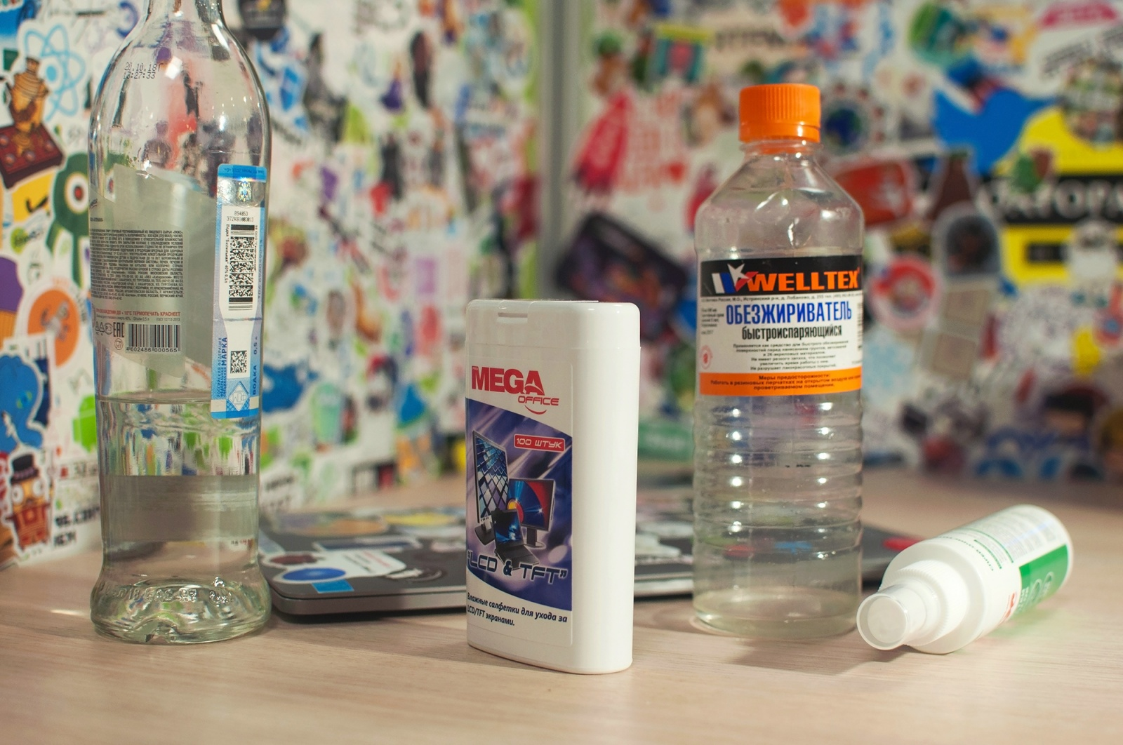 Масло и водка: как мы избавляем ноутбуки от стикеров - 4