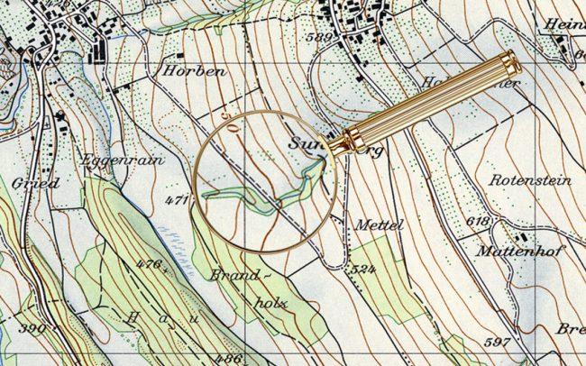 Пасхалки на топографических картах Швейцарии - 2