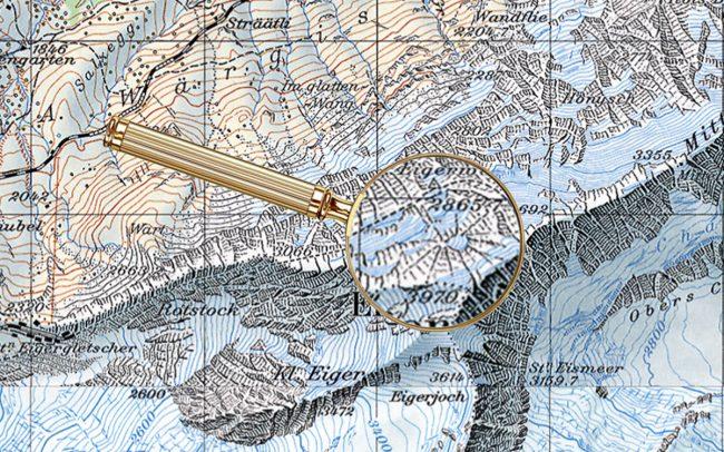 Пасхалки на топографических картах Швейцарии - 3