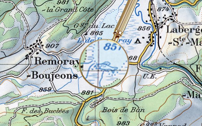 Пасхалки на топографических картах Швейцарии - 4