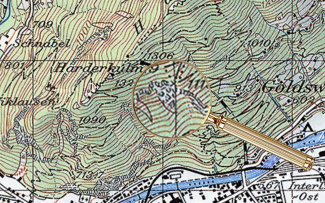 Пасхалки на топографических картах Швейцарии - 5