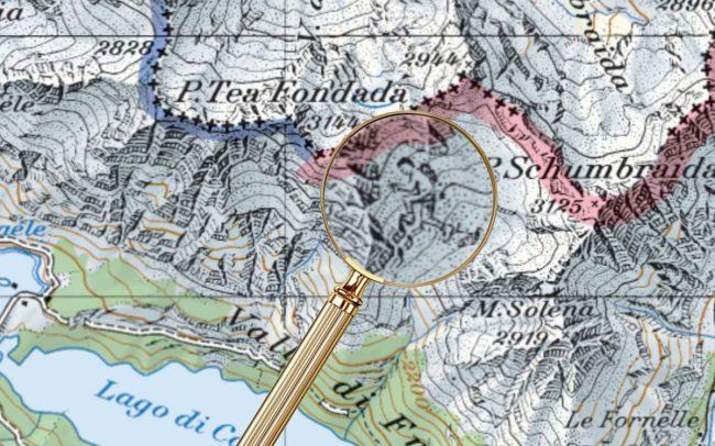 Пасхалки на топографических картах Швейцарии - 6