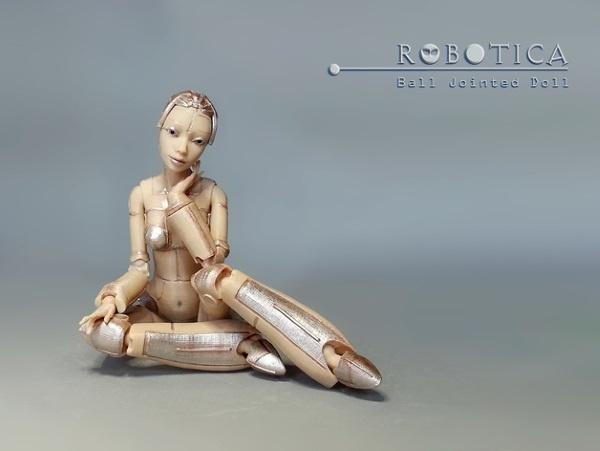 Роботика — 3D-печатная кукла ростом с человека - 2