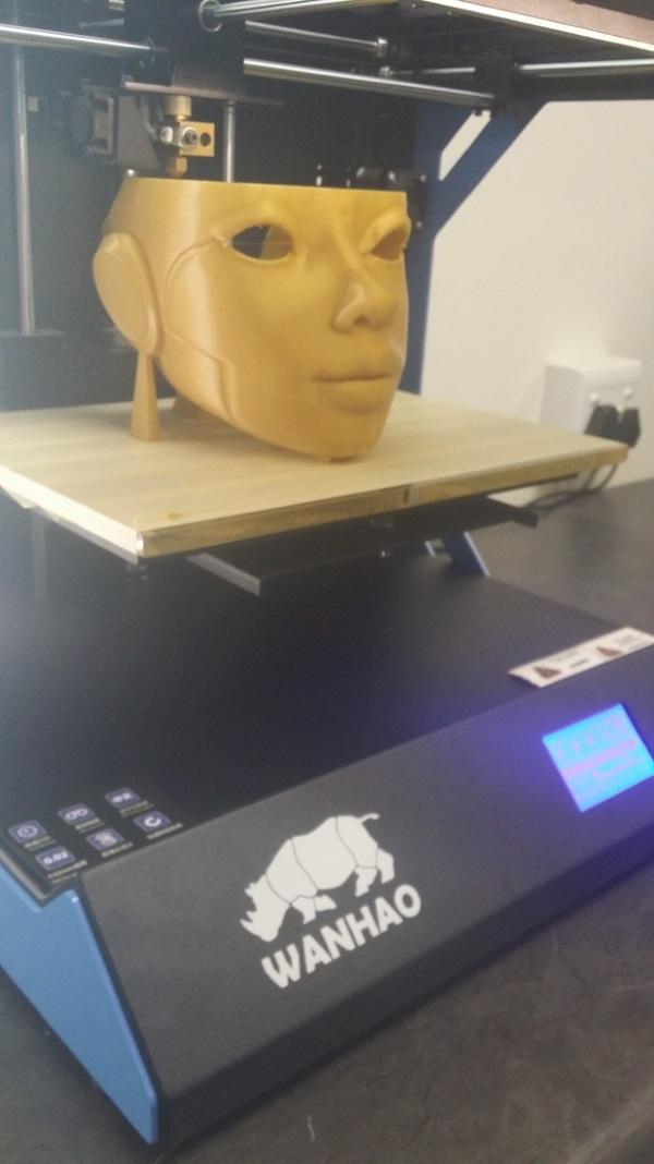 Роботика — 3D-печатная кукла ростом с человека - 5