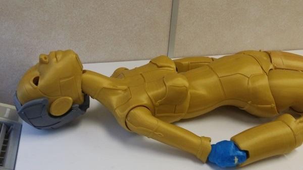 Роботика — 3D-печатная кукла ростом с человека - 8