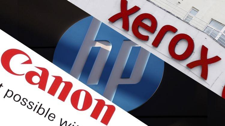 Сделка с Xerox угрожает сотрудничеству Canon с HP Inc