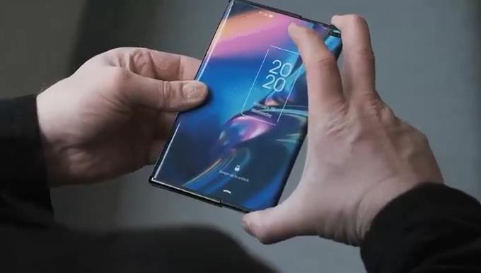 Такими могут быть смартфоны с «растягивающимся» экраном