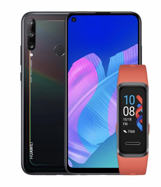 В Европе вышел новый смартфон линейки Huawei P40. Покупатели получают Huawei Band 4 в подарок