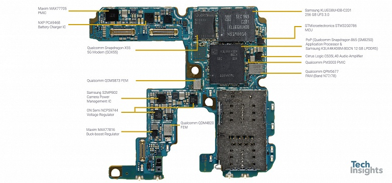 Вот сколько стоят компоненты Samsung Galaxy S20 Ultra