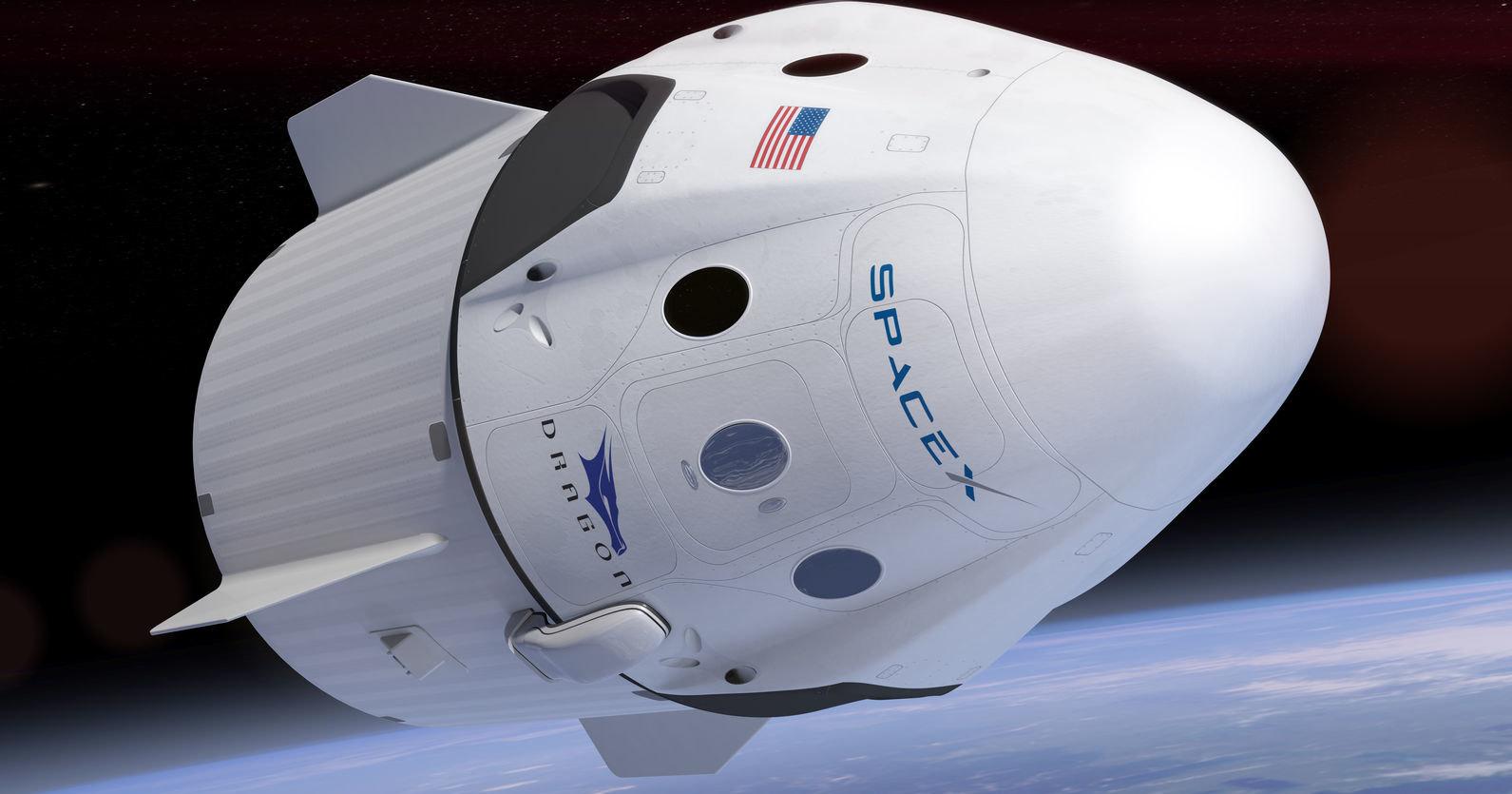 SpaceX отправит трех туристов к МКС в 2021 году
