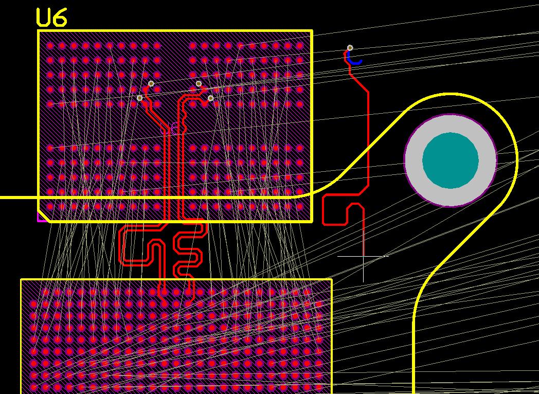 Разработка модуля на iMX8 от NXP. Особенности переноса трассировки DDR - 13