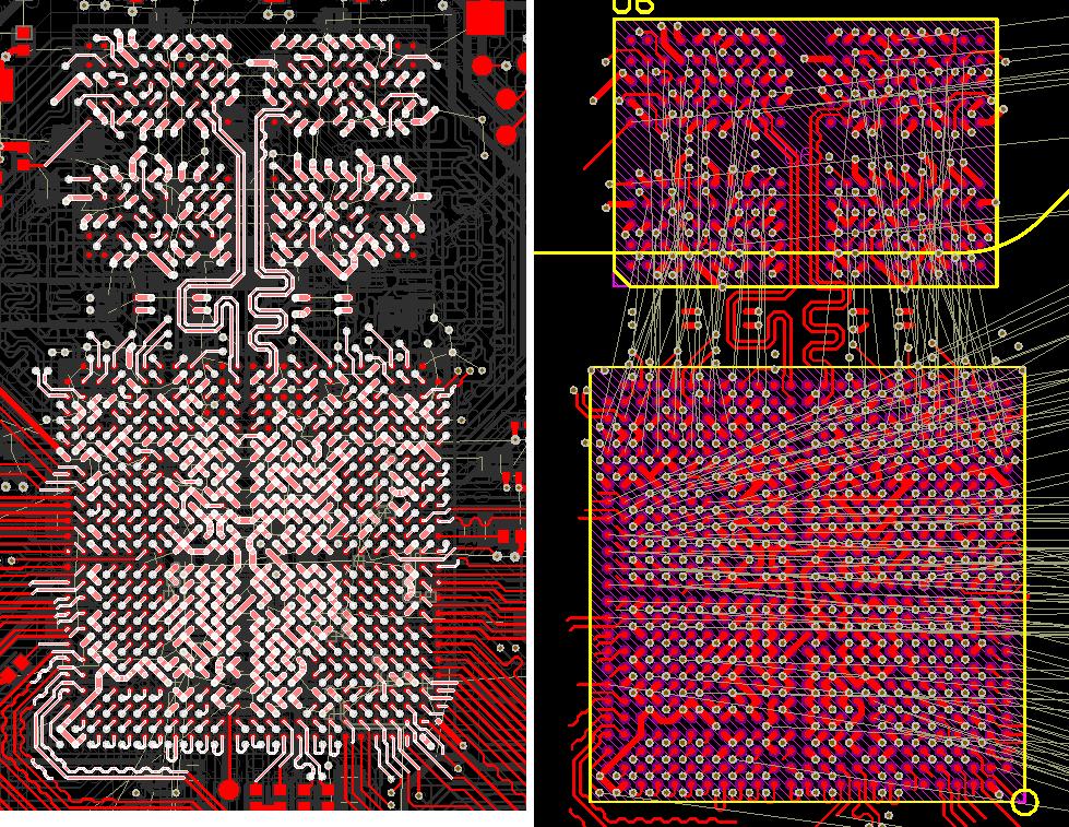 Разработка модуля на iMX8 от NXP. Особенности переноса трассировки DDR - 14