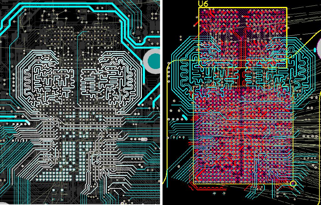 Разработка модуля на iMX8 от NXP. Особенности переноса трассировки DDR - 15