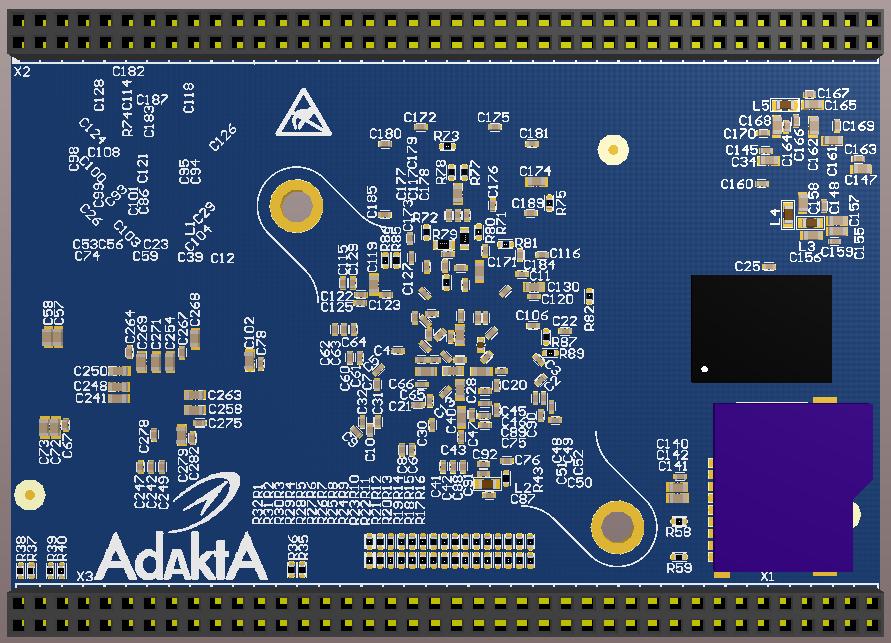 Разработка модуля на iMX8 от NXP. Особенности переноса трассировки DDR - 16