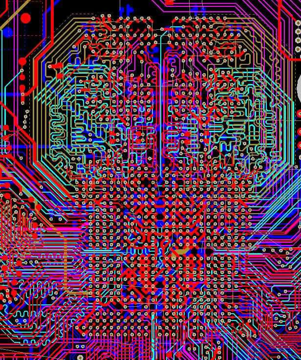 Разработка модуля на iMX8 от NXP. Особенности переноса трассировки DDR - 17