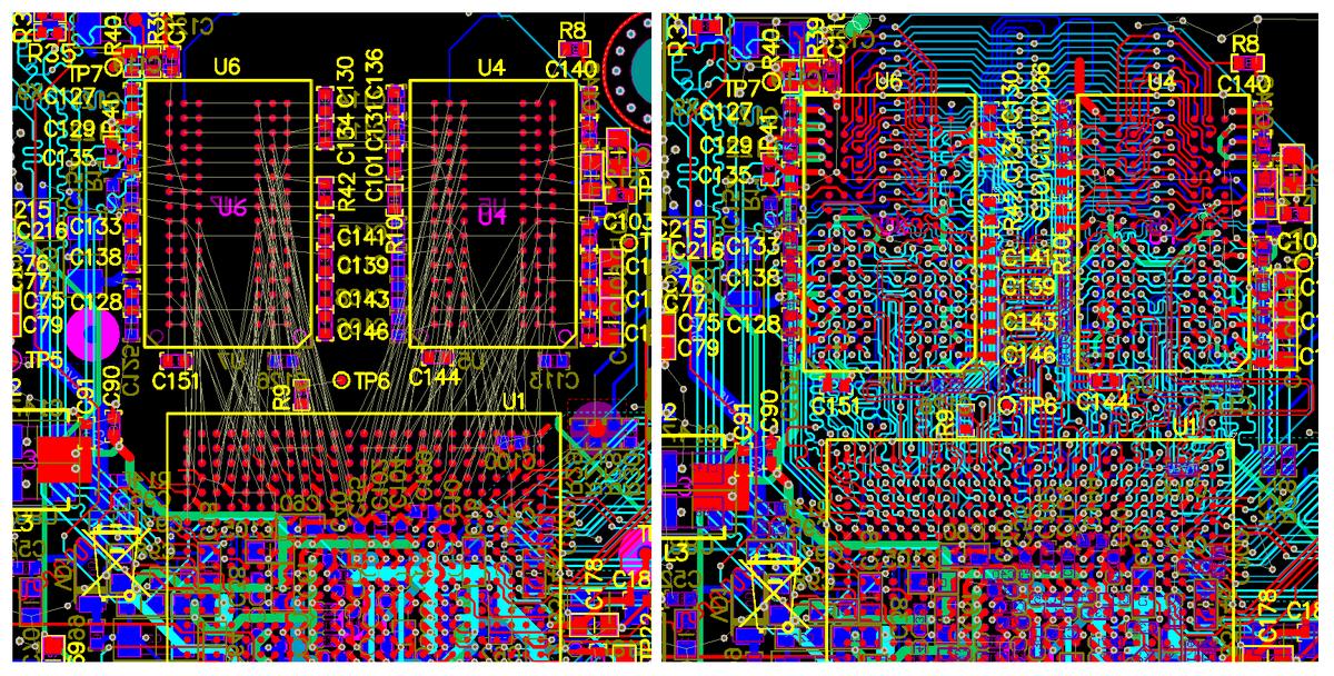 Разработка модуля на iMX8 от NXP. Особенности переноса трассировки DDR - 3