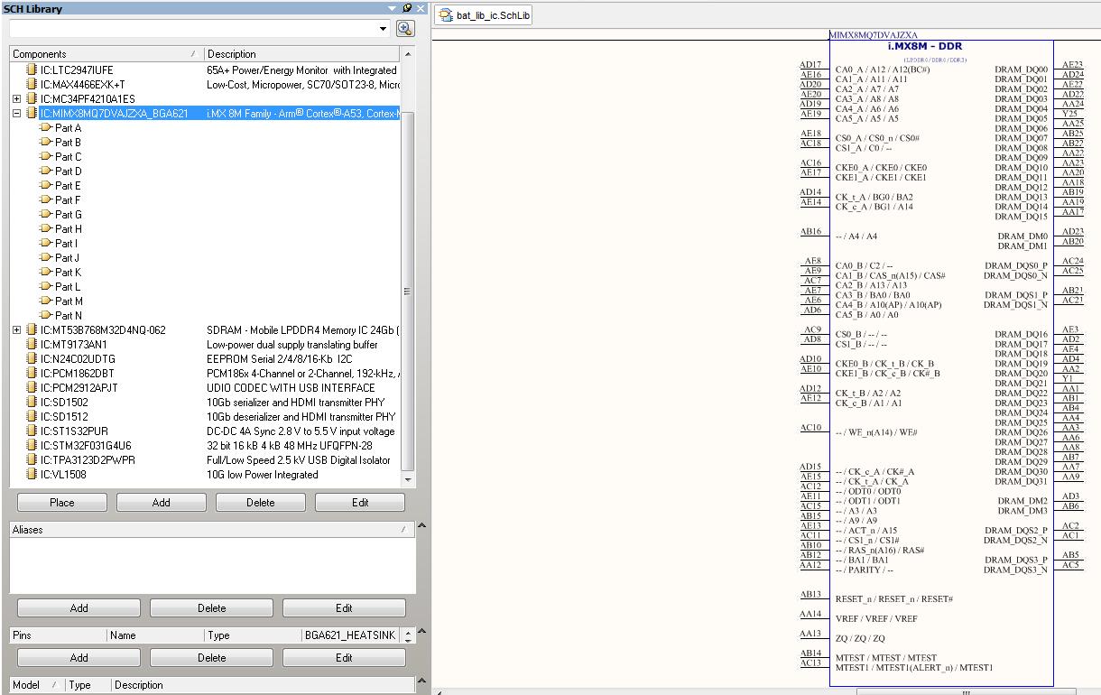 Разработка модуля на iMX8 от NXP. Особенности переноса трассировки DDR - 5