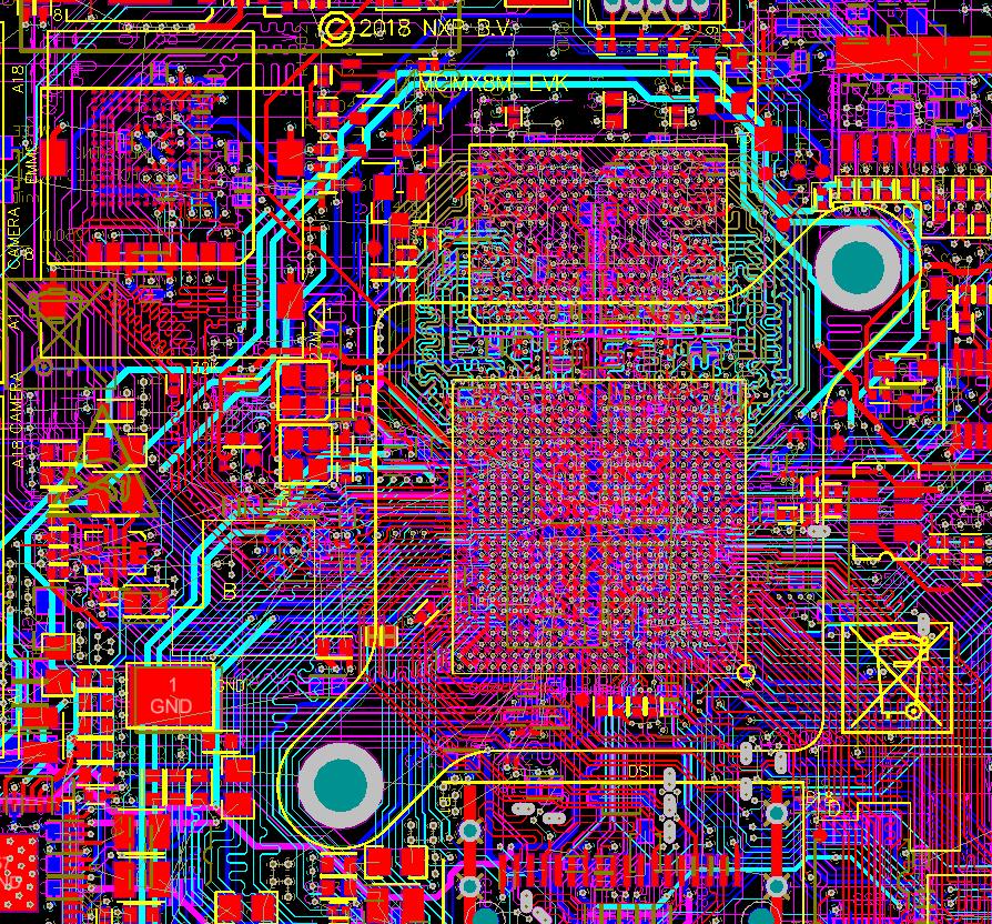 Разработка модуля на iMX8 от NXP. Особенности переноса трассировки DDR - 8