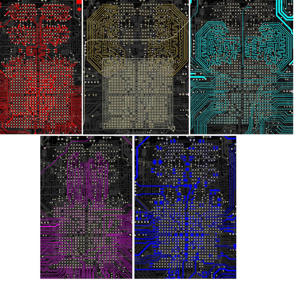 Разработка модуля на iMX8 от NXP. Особенности переноса трассировки DDR - 9