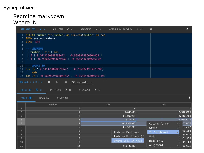ClickHouse – визуально быстрый и наглядный анализ данных в Tabix. Игорь Стрыхарь - 22