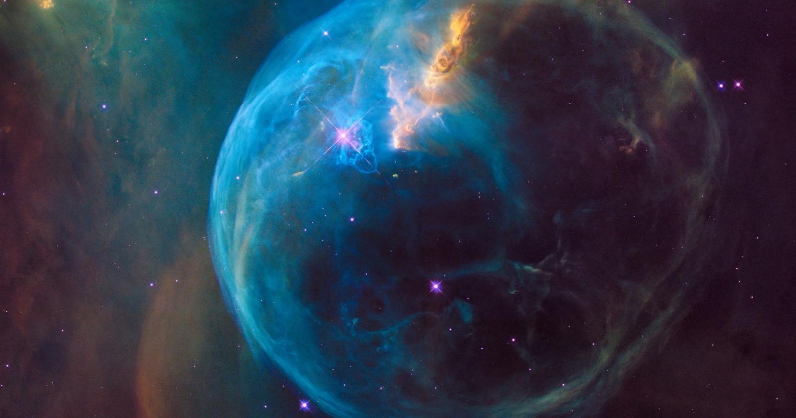 Дыра в ткани реальности, в теории, может уничтожить Вселенную
