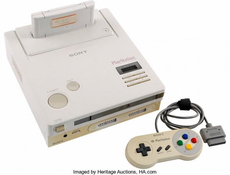 Уникальную игровую консоль Nintendo Play Station Super NES продали за 360 000 долларов