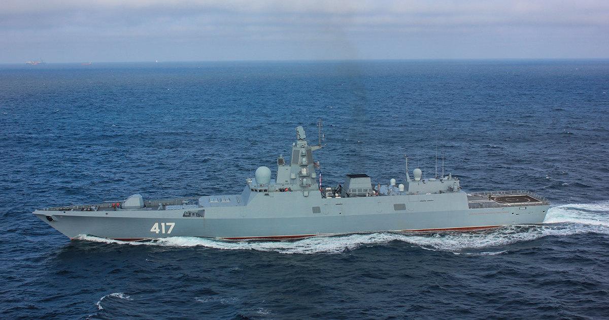 Цирконом  с  Адмирала Горшкова  выстрелят ещё несколько раз - 1