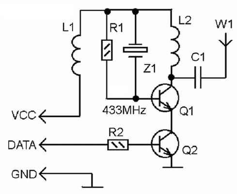 Еще раз о передатчиках и приемниках 433 МГц - 2