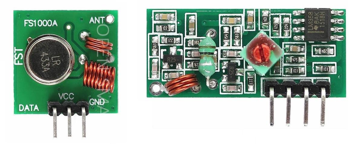 Еще раз о передатчиках и приемниках 433 МГц - 1