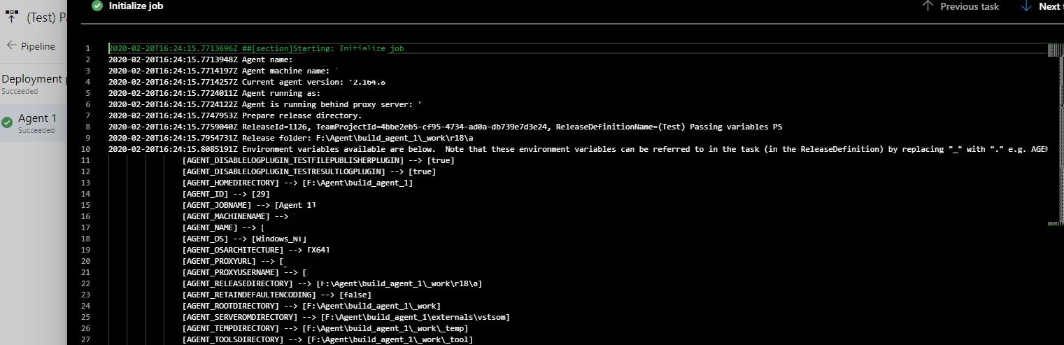 Использование переменных в пайплайнах Azure DevOps - 5